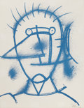 Prints, RUFINO TAMAYO (Mexican, 1899-1991). Untitled. Colorlithograph. 22-1/2 x 17-1/2 inches (57.2 x 44.5 cm). Ed. 15/25.Sign...