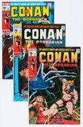 Bronze Age (1970-1979):Adventure, Conan the Barbarian Group (Marvel, 1971-72) Condition: Average FN/VF.... (Total: 8 Items)