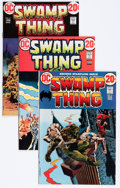Bronze Age (1970-1979):Horror, Swamp Thing Group (DC, 1972-76) Condition: Average FN+.... (Total:24 Comic Books)