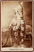Photography:Cabinet Photos, Albumen Cabinet Card Photo: Sitting Bull's Son ...