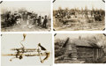 Photography:Cabinet Photos, [Alaska Gold Mining]. Lot of Fifteen Original Prints of VariousScenes in the Fairbanks Mining District....