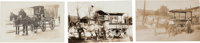 Real Photo Postcards:Three Wells Fargo & Express Co. Wagons