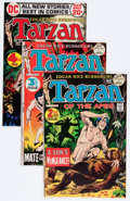 Bronze Age (1970-1979):Adventure, Tarzan Group (DC, 1972-77) Condition: Average VF+.... (Total: 13 Comic Books)