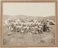 Photography:Cabinet Photos, Albumen Photo: Pine Ridge Council South Dakota,...