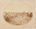 Photography:Cabinet Photos, Oval Albumen: Winnebago Treaty with the Omahas....