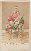 Photography:CDVs, Carte de Visite: Chief Keokuk, Sac -Fox,...