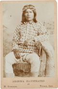 Photography:Cabinet Photos, Cabinet Card Photo: Apache Brave, ...