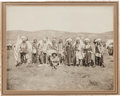 Photography:Cabinet Photos, Albumen Photo: Pine Ridge Council South Dakota, ...