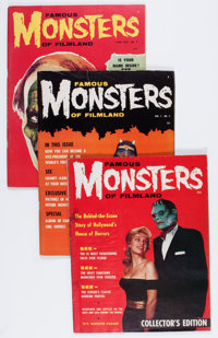 Famous Monsters of Filmland Group (Warren, 1958-63) Condition: Average VG/FN.... (Total: 30 Comic Books)