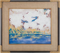 Political:Presidential Relics, Gerald Ford: Japanese Landscape Oil on Canvas....