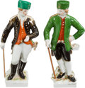 Political:Presidential Relics, Gerald Ford: Two KPM Figurines.... (Total: 2 Items)