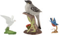 Political:Presidential Relics, Gerald Ford: Three Boehm Bird Figurines.... (Total: 3 Items)
