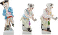 Political:Presidential Relics, Gerald Ford: Three KPM Figurines.... (Total: 3 Items)