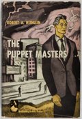 Books:Science Fiction & Fantasy, Robert A. Heinlein. The Puppet Masters. Doubleday, 1951.First edition, first printing. Minor rubbing and soilin...