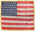 Political:Textile Display (pre-1896), Flags: 44-Star Flag....