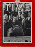 Autographs:U.S. Presidents, John F. Kennedy: Signed Time Magazine. ...
