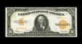 Large Size:Gold Certificates, Fr. 1173a $10 1922 Mule Gold Certificate Extremely Fine+. This Friedberg variety features small serial numbers. The paper or...