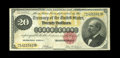 Large Size:Gold Certificates, Fr. 1178 $20 1882 Gold Certificate Extremely Fine. This note certainly faces up well and exhibits vibrant color. Closer insp...