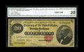 Large Size:Gold Certificates, Fr. 1178 $20 1882 Gold Certificate CGA Very Fine 20. Decent colorstill remains on this example that served our country well...