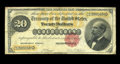 Large Size:Gold Certificates, Fr. 1178 $20 1882 Gold Certificate Fine. The surfaces remain bright on this average circulated example that has solid margin...