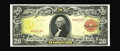 Large Size:Gold Certificates, Fr. 1180 $20 1905 Gold Certificate Gem New. This piece falls rightbetween two other serial numbers recorded in the census a...