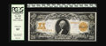Large Size:Gold Certificates, Fr. 1182 $20 1906 Gold Certificate PCGS Choice New 63. In ouropinion this note may have been a tad conservatively graded. L...