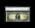 Large Size:Gold Certificates, Fr. 1185 $20 1906 Gold Certificate CGA Gem Uncirculated 66. Naturalpaper wave and excellent color are merits of this attrac...