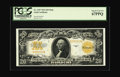 Large Size:Gold Certificates, Fr. 1187 $20 1922 Mule Gold Certificate PCGS Superb Gem New 67PPQ.Not much need be said about this one...The holder speaks ...