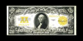 Large Size:Gold Certificates, Fr. 1187 $20 1922 Gold Certificate Choice About New. A light centerbend is seen on this vividly overstamped example. The ba...