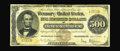 Large Size:Gold Certificates, Fr. 1215a $500 1882 Gold Certificate Very Good-Fine. Unknown tocollectors before its appearance at the Memphis 2000 auction...