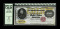 Large Size:Gold Certificates, Fr. 1225 $10000 1900 Gold Certificate PCGS Very Choice New 64. Well margined with bright gold overprints. A bit of aging is ...