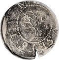 1652 SHILNG Oak Tree Shilling--Environmental Damage--NCS. VF Details. Noe-3, Crosby 9-G, R.6. 61.8 grains. The two Hain...