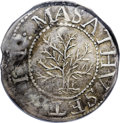 1652 SHILNG Oak Tree Shilling--Damaged--NCS. XF Details. Noe-1, Crosby 9-H, R.3. 72.2 grains. Double struck, with the in...