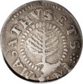 1652 SHILNG Pine Tree Shilling, Small Planchet--Plugged, Whizzed--NCS. VF Details. Noe-16, Crosby 21-L, R.2. 71.8 grains...