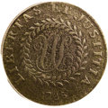 Colonials: , 1785 C Nova Nova Constellatio Copper, Pointed Rays, Small Date VF30 PCGS. Crosby 2-A, R.5. A rare Nova Constellatio die var...