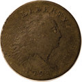Large Cents: , 1793 Chain 1C AMERICA VG10 PCGS. S-3, R.3. The R is high andleaning right, aiding easy attribution of the Sheldon-3 varian...