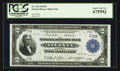 Large Size:Federal Reserve Bank Notes, Fr. 762 $2 1918 Federal Reserve Bank Note PCGS Superb Gem New 67PPQ.. ...