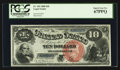 Large Size:Legal Tender Notes, Fr. 103 $10 1880 Legal Tender PCGS Superb Gem New 67PPQ.. ...