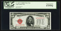 Fr. 1527* $5 1928B Legal Tender Note. PCGS Superb Gem New 67PPQ
