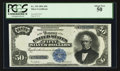 Large Size:Silver Certificates, Fr. 335 $50 1891 Silver Certificate PCGS About New 50.. ...
