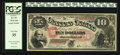 Large Size:Legal Tender Notes, Fr. 97 $10 1875 Legal Tender PCGS Very Fine 35.. ...
