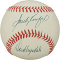 Baseball Collectibles:Balls, Don Drysdale and Sandy Koufax Multi Signed Baseball. ...