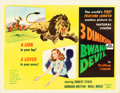 "Movie Posters:Adventure, Bwana Devil (United Artists, 1953). Half Sheet (22"" X 28"") 3-D Style A. From the collection of Wade Williams.. ..."