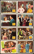 """Movie Posters:Musical, Hello, Frisco, Hello (20th Century Fox, 1943). Lobby Card Set of 8 (11"""" X 14"""").. ... (Total: 8 Items)"""