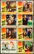 """Movie Posters:Drama, Watch on the Rhine (Warner Brothers, 1943). Lobby Card Set of 8(11"""" X 14"""").. ... (Total: 8 Items)"""