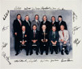 Autographs:Photos, Golfing Greats Signed Oversized Photo and Book....