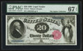 Large Size:Legal Tender Notes, Fr. 141 $20 1880 Legal Tender PMG Superb Gem Unc 67 EPQ.. ...
