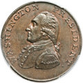 Colonials, 1791 1C Washington Small Eagle Cent MS63 Brown PCGS. Baker-16,W-10630, R.3....