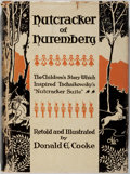 Books:Children's Books, Donald E. Cooke. Nutcracker of Nuremberg. Winston, 1938.Staining affecting cloth boards and dj. Rubbing and toning ...