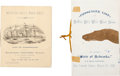 Transportation:Nautical, Two Wild West Passenger Lists. ... (Total: 2 Items)